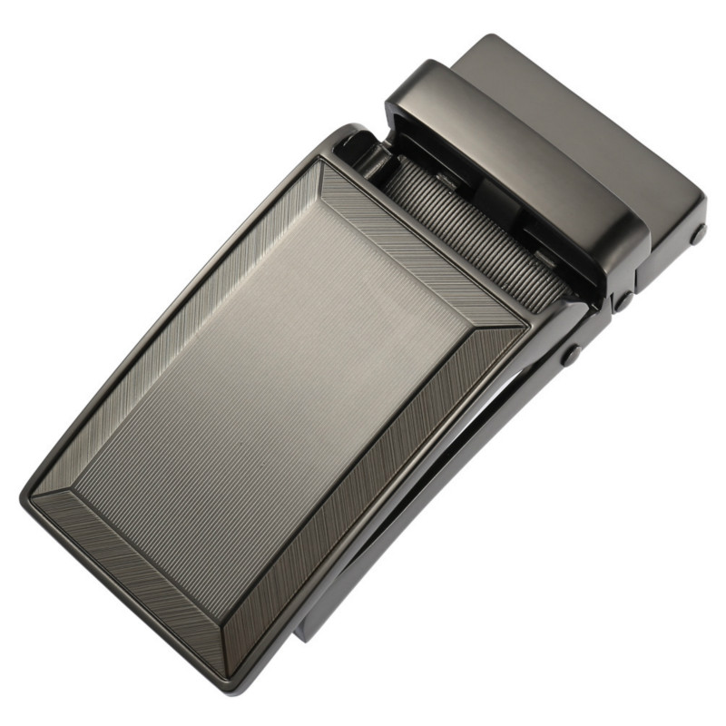 Men's Business Alloy Automatic Buckle Unique Men Plaque Belt Buckles For 3.1cm Ratchet Men Apparel Accessories LY133-30016