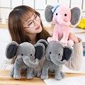 Лидер продаж, новинка, Оригинальные Плюшевые игрушки для сна 25 см, слон, Хамфри Чо экспресс, мягкая кукла с животными для детей, подарок на де...
