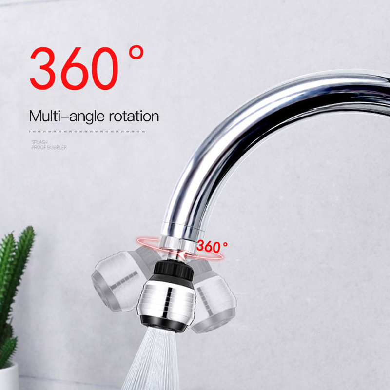 360 Degree HOT Sale Rotate Swivel Faucet Nozzle Filter Adapter Water Saving Tap Aerator Diffuser Bathroom Shower Kitchen Tools