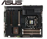 Asus sabertooth z77 original placa-mãe ddr3 lga 1155 usb2.0 usb3.0 32 gb para 22/32nm cpu z77 usado desktop placa-mãe