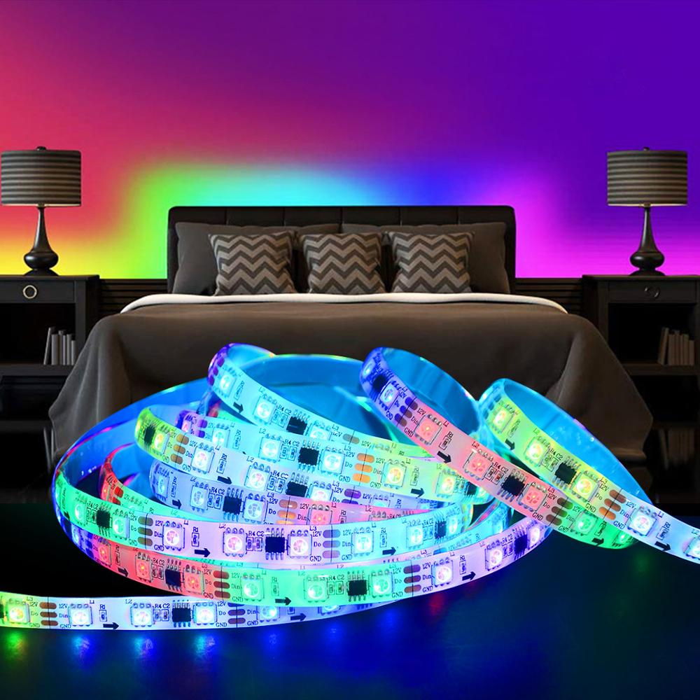 lowest price 5M 5050 SMD LED Strip RGB RGBW  RGB   White  RGBWW  RGB Warm White  RGBCCT Flexible LED String light 5M  300 LEDs 12V  24V Home