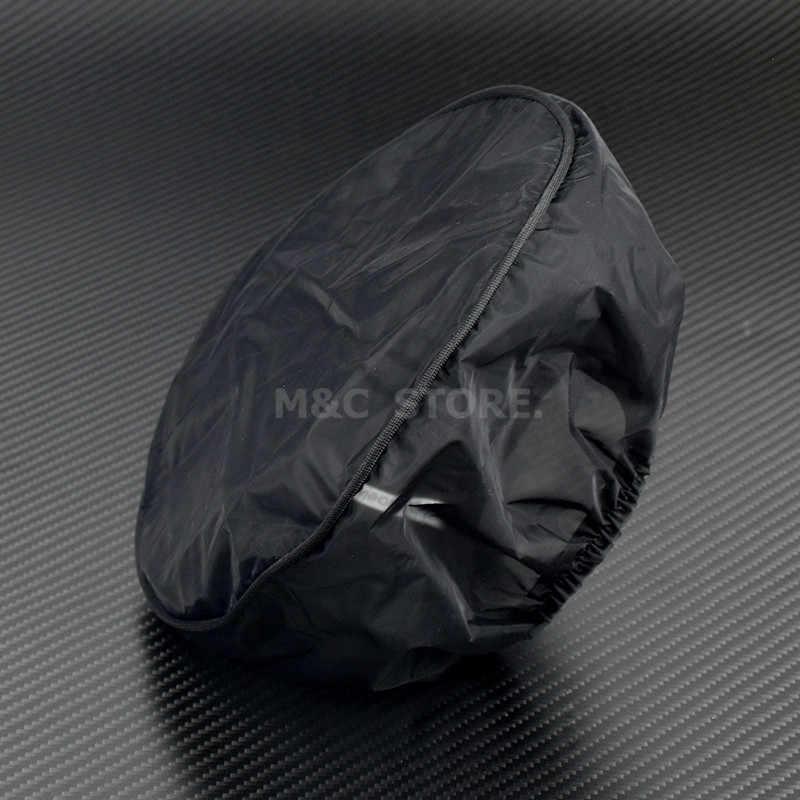 กรองอากาศฝาครอบกันน้ำฝนถุงเท้าปกป้องกันปกระบายอากาศสำหรับ H Arley S Portster 883 1200 XR XR T Ouring ถนนคิงฉุยฉายถนนฉุยฉาย Softail มรดก Dyna กรองอากาศกรองปก