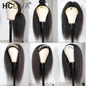 Image 2 - Peruca de cabelo humano frontal 360, para mulheres, negras, cabelo remy brasileiro 250% pré selecionado cabelo do bebê
