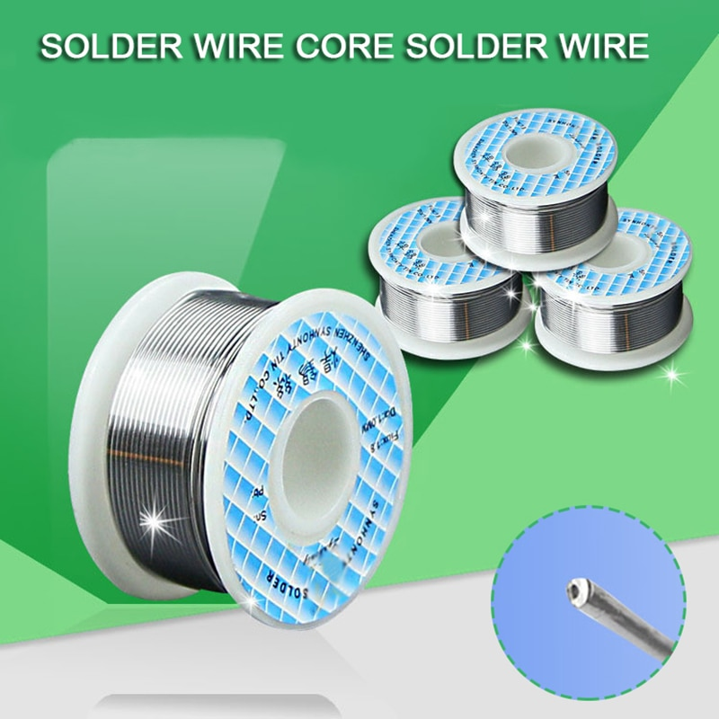 0.8mm Soldering Tin Wire Tin Lead Rosin Core Soldering Wire Roll No-clean FLUX 2.0% Welding Repair Tools For Electrical