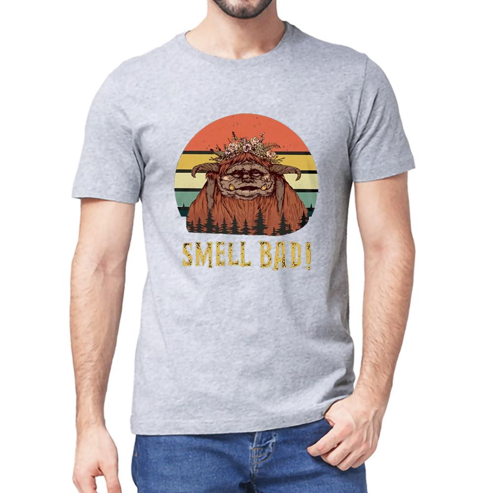 Ludo The Labyrinth Smell Bad Cult Film 80s Fantasy Vintage Long Sleeve T-Shirt