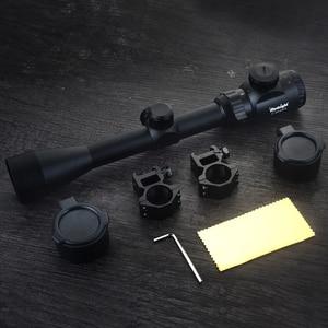 Image 5 - 3 9x40 Optic Scope Red Green Rangefinder Illuminated Optical Sniper Rifle Scope Hunting Scopes Riflescope