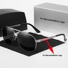 Car Sunglasses UV400 Protection Men's Fashion Polarized Sunglasses for Mercedes Benz Sunglasses Trend Personality Eyeglass