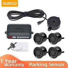 Park sensörü araba park takımı Buzzer 22mm 4 sensörler geri park etme radarı ses uyarısı göstergesi probu sistemi 12V 6 renkler