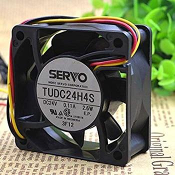 TUDC24H4S 24V 2.6w 6CM 6025 Ultra-Silent Cooling Fan 6months Warranty