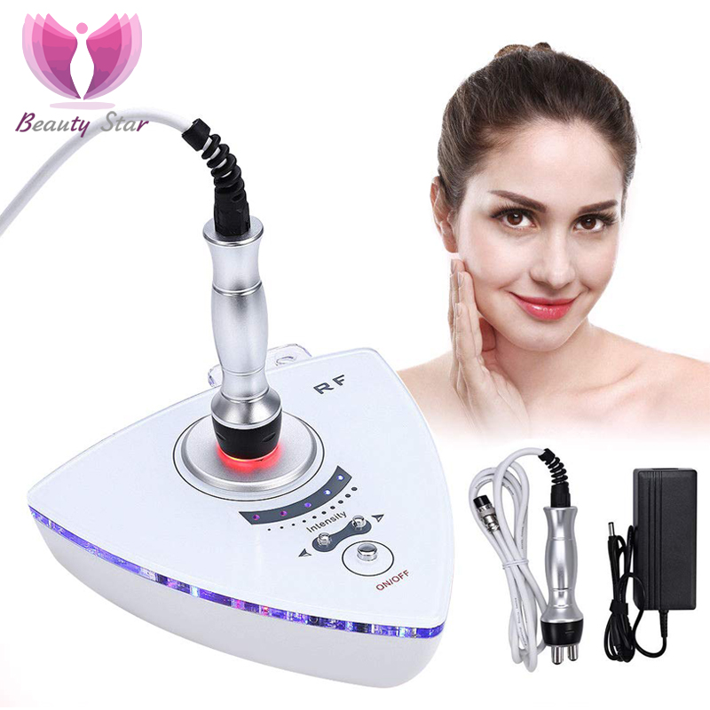 Beauty Star RF Radio Frequency Facial Lifting Machine Skin Rejuvenation Wrinkle Removal Skin Tightening  Skin Care Eye Massager