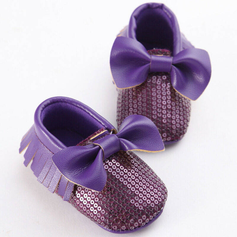 Shoes Sneakers Prewalker Sole Anti-Slip Newborn Baby-Girl Casual Cotton Crib Bow-Knot