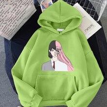 Belle (2021) Hoodie  Women Winter Autumn Sweatshirt Hip Hop Clothes  Face Kawaii Sweet Printing Hooded Long-sleeved Streetwear