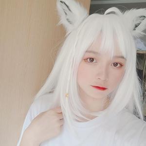 Image 3 - 로리타 애니메이션 코스프레 롱 모피 폭스 귀 헤어 클립 파티 네코 고양이 귀 파티 크리스마스 머리띠 세트 여자 여자 파티 소품