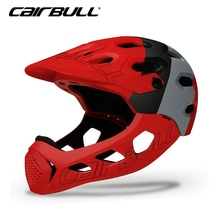New ALLCROSS Adult Full Covered Bicycle Helmet Men Women Motorcycle DH OFF-ROAD Downhill Sports Cycling Full Face Helmet 56-62CM