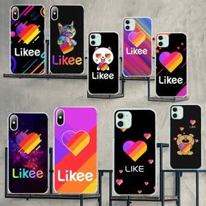 NBDRUICAI likee fashion app DIY Luxury Phone Case for iPhone 11 pro XS MAX 8 7 6 6S Plus X 5S SE XR cover(China)