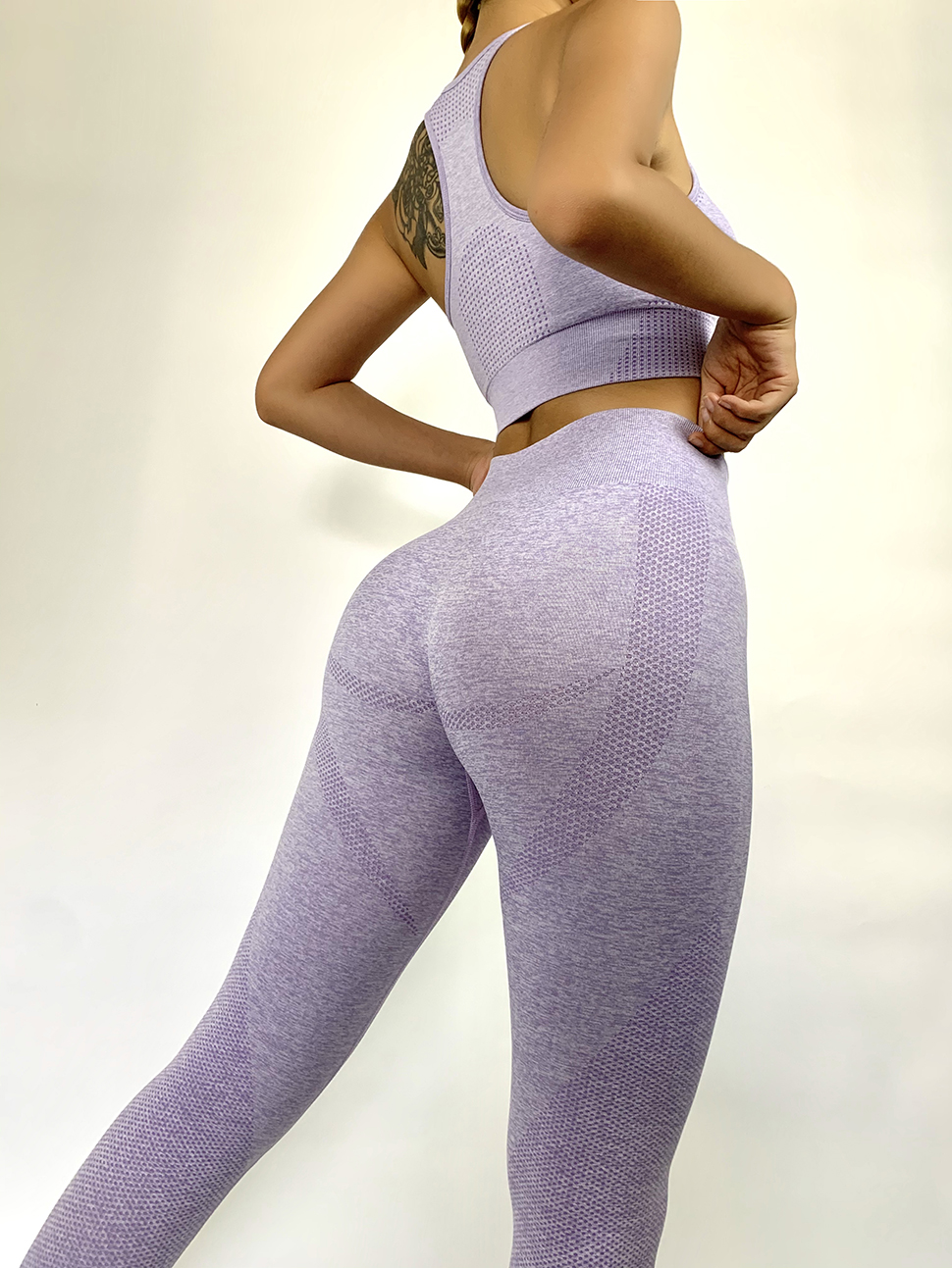 2 Piece Gym Clothing Women Gym Yoga Set Fitness Workout Sets Yoga Bra + Yoga Legging Women's  Sportswear Suit  Yoga Suit Fitness