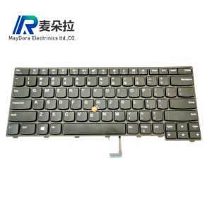 New US IND Keyboard For ThinkPad L440 L450 L460 L470 T431S T440 T440P T440S T450 T450S e440 e431S T460 WO Backlit 01EN468