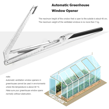 Garden-Supplies-Accessories Greenhouse Gardening-Tool Vent-Kit Window-Opener Heat-Sensitive