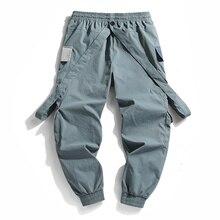 2021 New Hot Jogger Leisure Sports Trousers Men Hip Hop Streetwear Beam Foot Cargo Pants Fashion Printing Men Pants joggers
