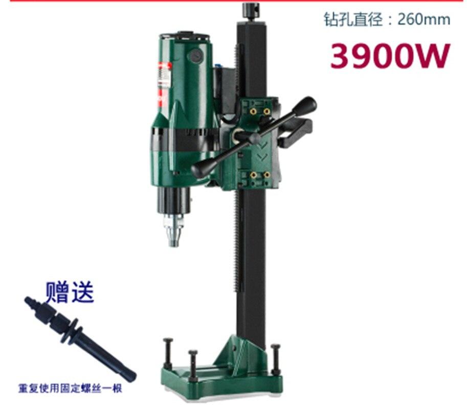 Z1Z-CF-260 Wasser Bohren Maschine Diamant Bohren Werkzeug Hohe-qualität Engineering Bohren Maschine 220V 3900W 600r/min max.260MM