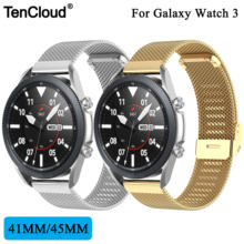 Сменный ремешок для samsung galaxy watch 3 металлический active
