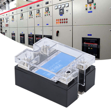 цена на SSR Solid State Relay Single Phase 100VD DC Control High Temperature Resistance Relay DC Control Relay