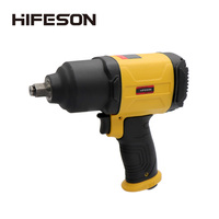 HIFESON Air Pneumatic Wrench 1/2 1150N.M Impact Spanner Large Torque Tire Removal Tool Nut Sleeves Pneumatic Power Tools