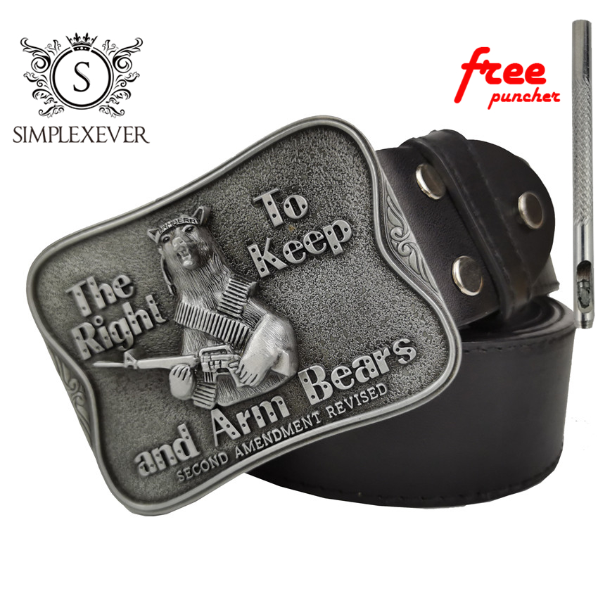 The Western Style Businessman Silver Belt Buckle Cowboy Belt Accessories Fashion Mens Belt Buckles With Belt