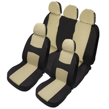 Universal Auto Car Seat Cover Front Rear Chair Covers Cushion Protector Interior Accessories 3 Colors
