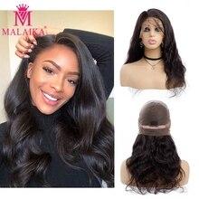 Объемные волнистые парики из натуральных волос на шнурках для черных женщин, предварительно выщипанные бразильские волнистые парики из натуральных волос