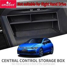Smabee araba merkezi kol dayama kutusu Volkswagen VW Golf 8 2020 Golf8 iç aksesuarları Stowing Tidying merkezi konsol düzenleyici