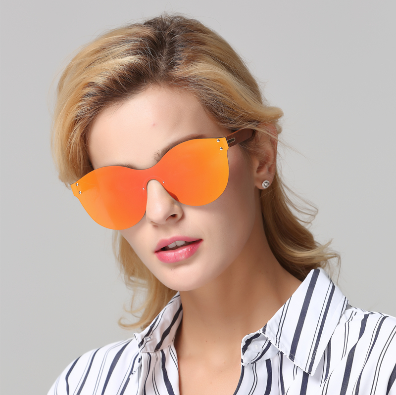 Image 5 - LONSY Fashion Sexy Cat Eye Sunglasses Women Polarized Luxury Brand Design Sun Glasses Original Wood Oculos de sol masculinoWomens Sunglasses   -