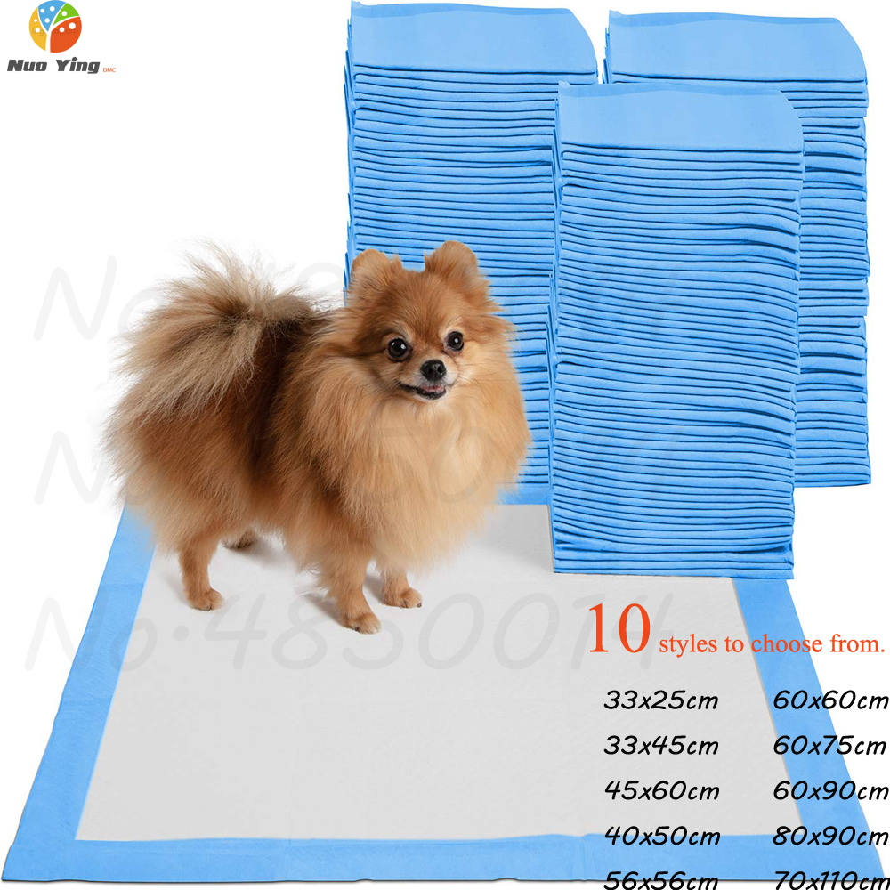 100pcs New Arrival Super Absorbent Diaper Pet Dog Training Urine Pad Pets Diapers Deodorant Antibacterial Pet