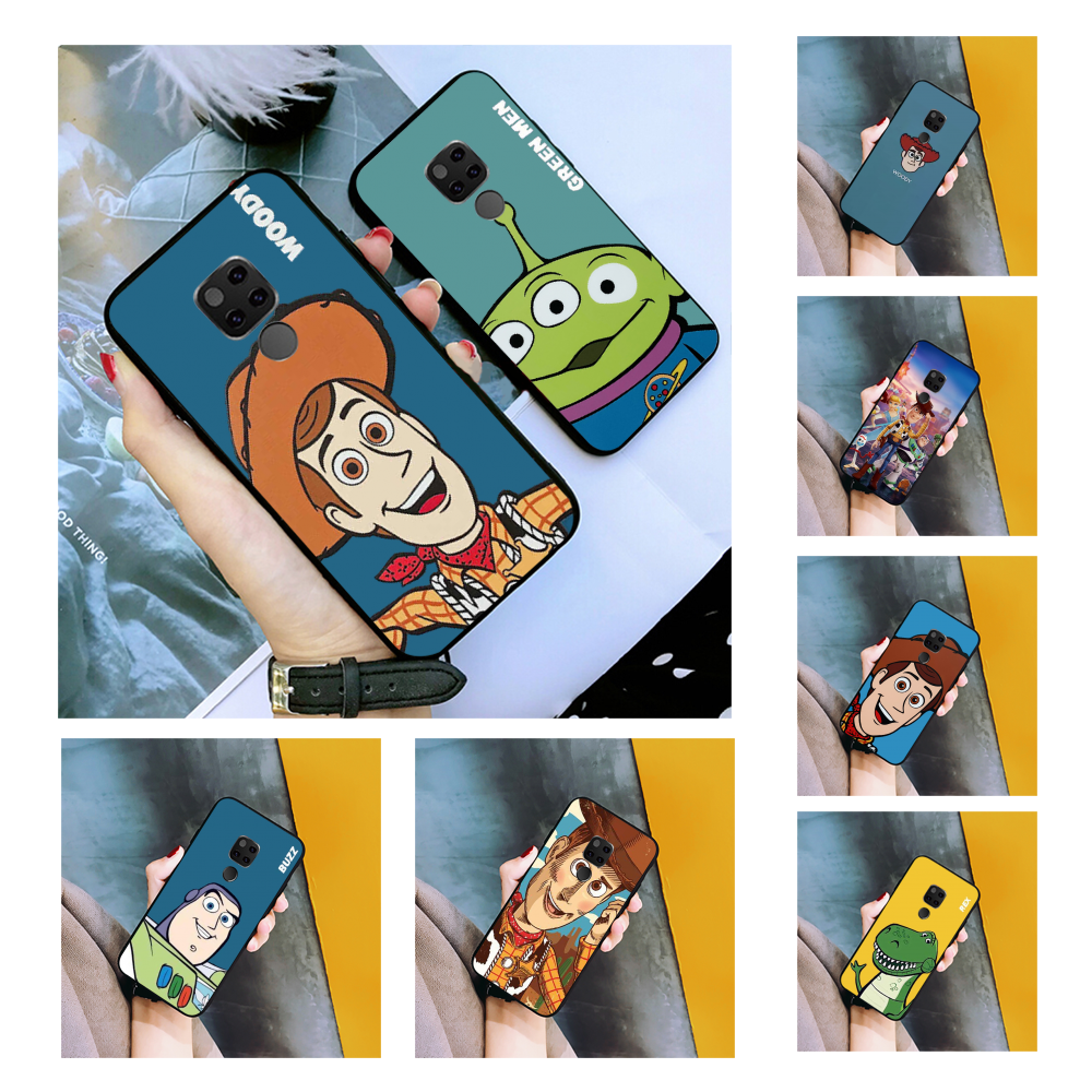 NBDRUICAI Cute Cartoon Toy Story candy WOODY BUZZ TPU Phone Case for Huawei Honor 10 9 8 8x 8c 9x 7c 7a Nova 3 3i Lite Y9 Y7 Y6