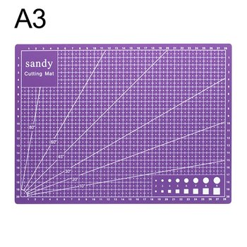 A3 Cutting Mat Cutting Underlay A3 Cutting Board Cutting Plate Handmade Tool For Hand Form Block Durable PVC Material Dropship a4 30 22cm sewing cutting mats plate design engraving cutting board mat handmade hand tools