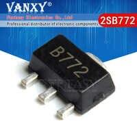 TRANSISTOR de potencia media, 20 piezas 2SB772 SOT89 B772 SMD SOT-89 PNP, nuevo y original