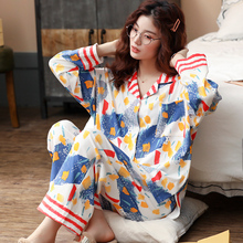 BZELขายร้อน 2PCSชุดนอนสำหรับสุภาพสตรีชุดนอนสุภาพสตรีบ้านผ้าฝ้ายHomewear Kawiiขนาดใหญ่Pijamaชุดนอน 3XL