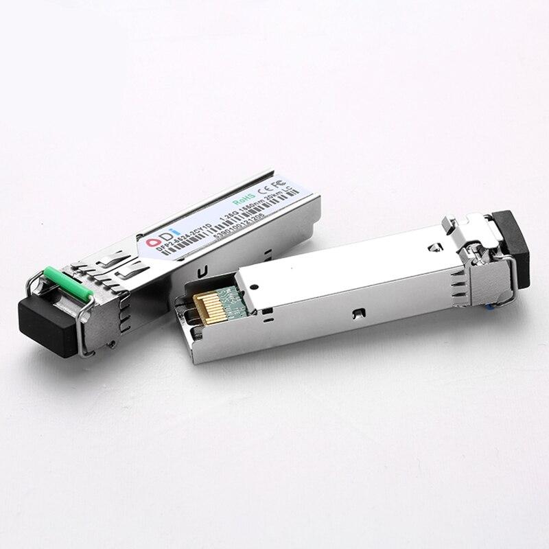 SFP Module For OLT ONU Switch SFP20km Optic Transceiver Sfp 1.25g 20km 40km 1550/1310nm Lc   SC/FC/ST  A Pair 1310nm/1550nm