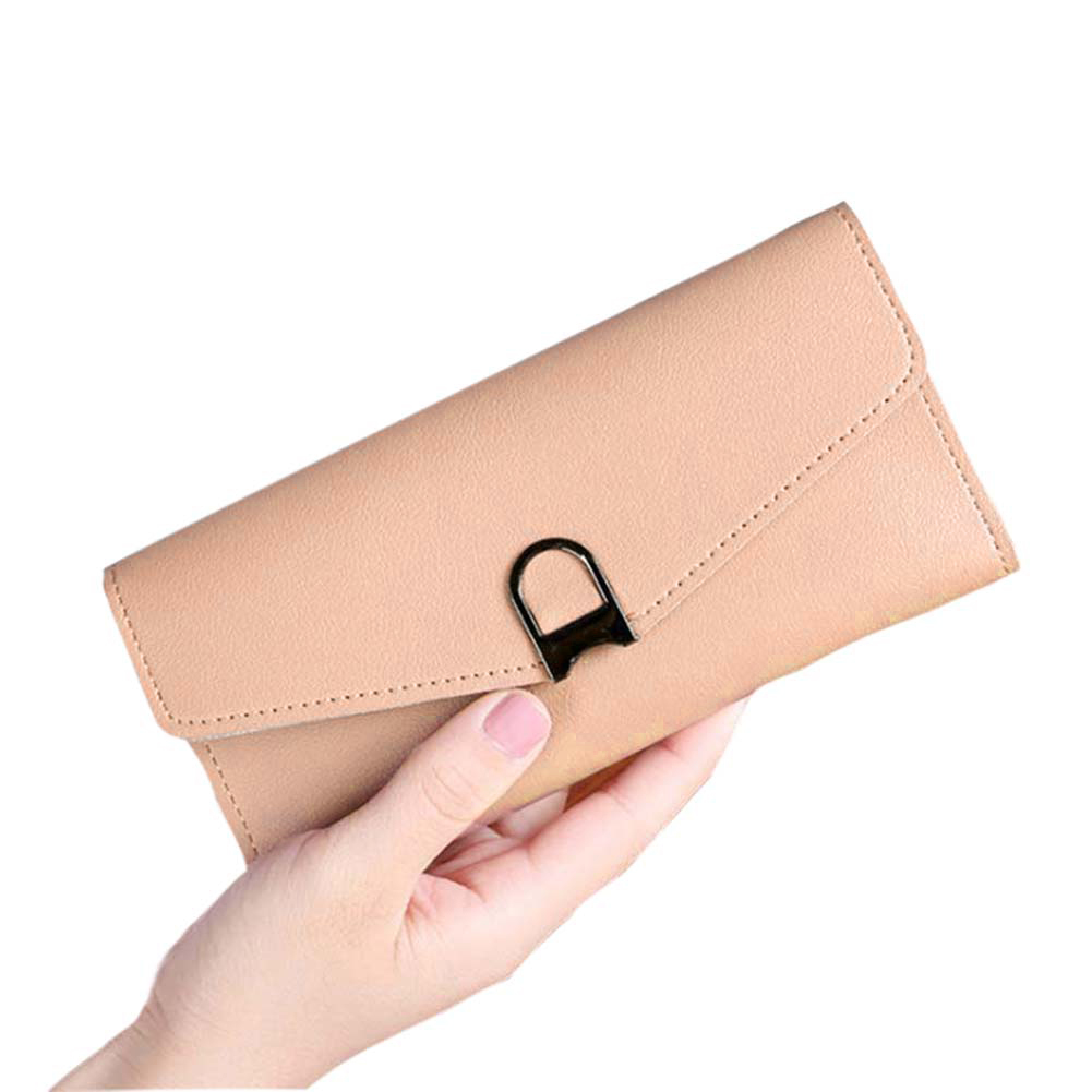 Women PU Leather Purse Clutch Wallet Long Card Holder Phone Handbag 88 Best Sale-WT