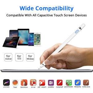 Image 3 - Precyzyjny aktywny rysik dotykowy dla Apple iPad Pro 11 12.9 10.5 9.7 rysunek pojemnościowy ołówek dla iPhone Android z rękawiczkami