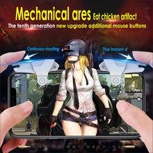 4 шт Мобильный телефон игровой триггер L1R1 шутер контроллер для PUBG ножи из правил выживания контроллер стрелок Кнопка огня