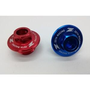 Image 3 - YAMAHA WR250R WR250X WR250 R/X 2007 2020 motosiklet aksesuarları CNC motor yağı kapağı somun.