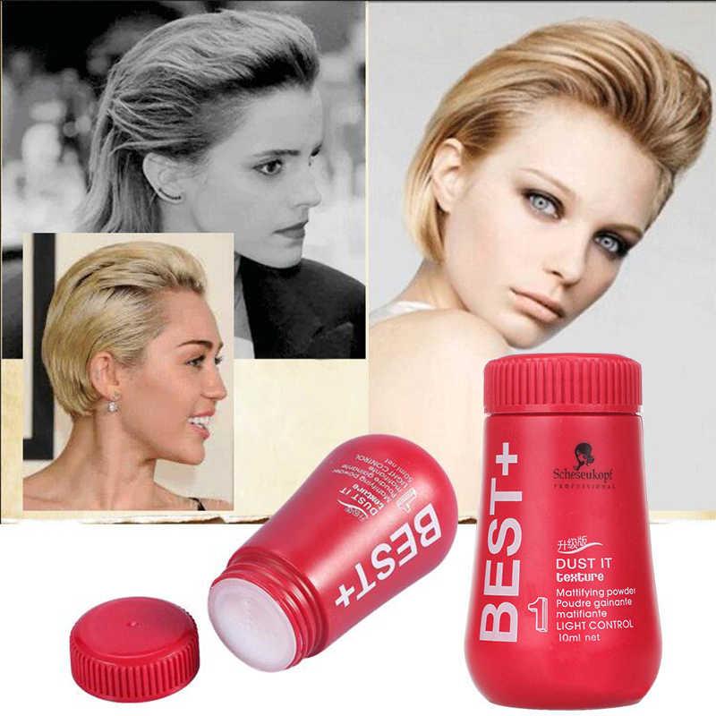 10 جرام المتاح حلاقة النمذجة شمع تثبيت مسحوق الشعر لزيادة حجم الشعر يلتقط الشعر زيت العلاج السيطرة على مسحوق TSLM2