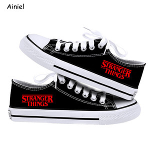 Image 4 - 2019 New Stranger Things Eleven Dustin Cosplay Shoes Canvas Shoes Sneakers Canvas Shoes Causal Sneakers Shoe Adult Women Lovers