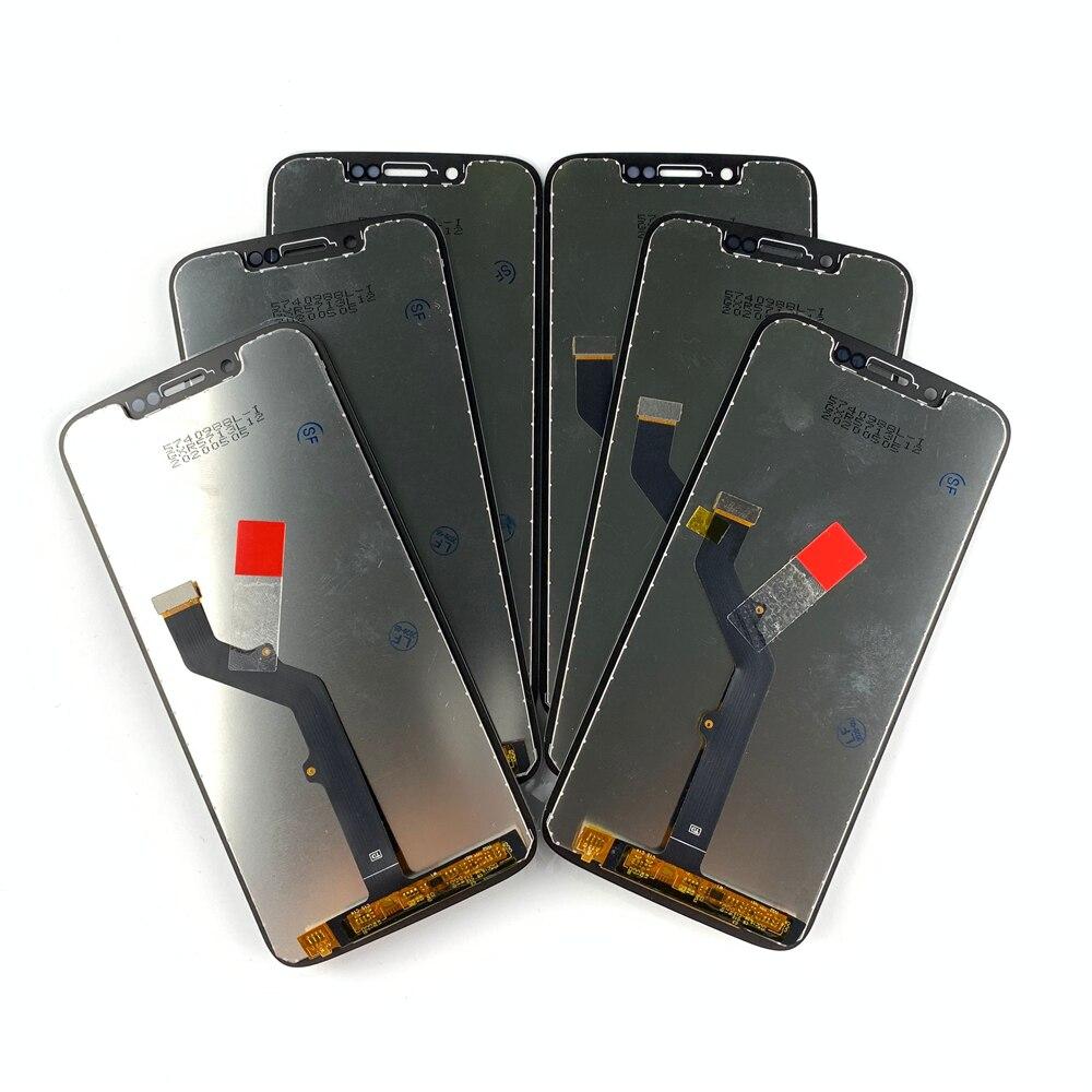 5 stück/lot 5,7 Zoll Für Moto rola Moto G7 Spielen LCD Digiziter Display touchscreen Für moto G7 spielen montage lcd Ersatz