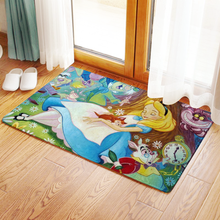 Disney в стиле аниме, с мотивом из сказки «Алиса в стране чудес» цифры мультфильм продукт Косплэй аксессуары индивидуальный коврик дома ковры ...