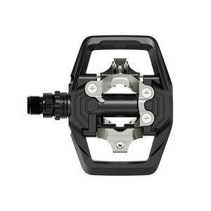 """Image 5 - SHIMANO GRX פ""""ד ME700 SPD שביל מתכוונן יציב דוושת עם רחב משטח 11 מהירות עבור אנדורו MTB אופני הרי אופניים שחור"""