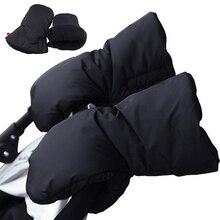 Baby stroller gloves Waterproof  Warm In Autumn And Winter Stroller Accessories