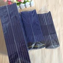 50 шт. синяя двухсторонняя углеродная бумага копировальная углеродная бумага 48 к/32 к/16 к тонкий тип канцелярские бумаги для офиса, школьные принадлежности