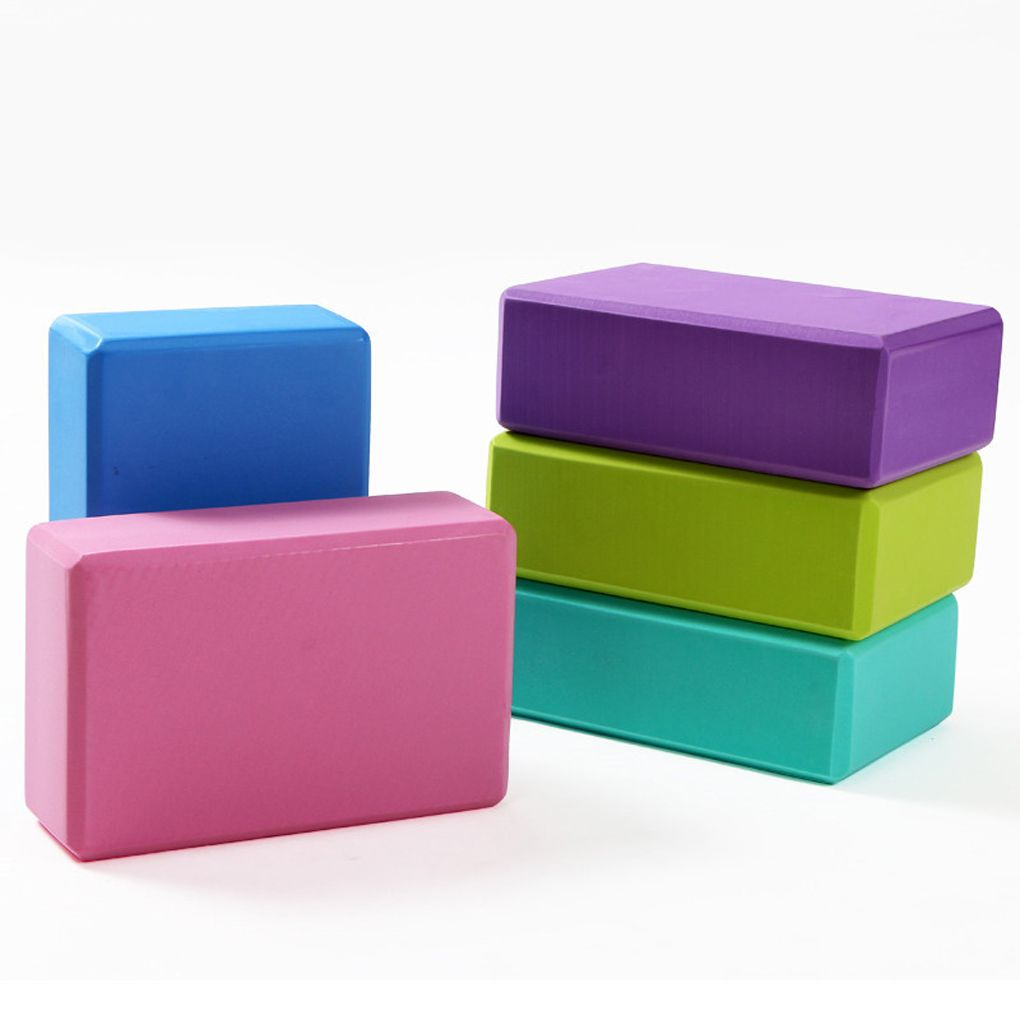 Deepen Poses Aid Back Support Yoga Block EVA Foam Non-slip Odor Resistant Moisture-Proof Block